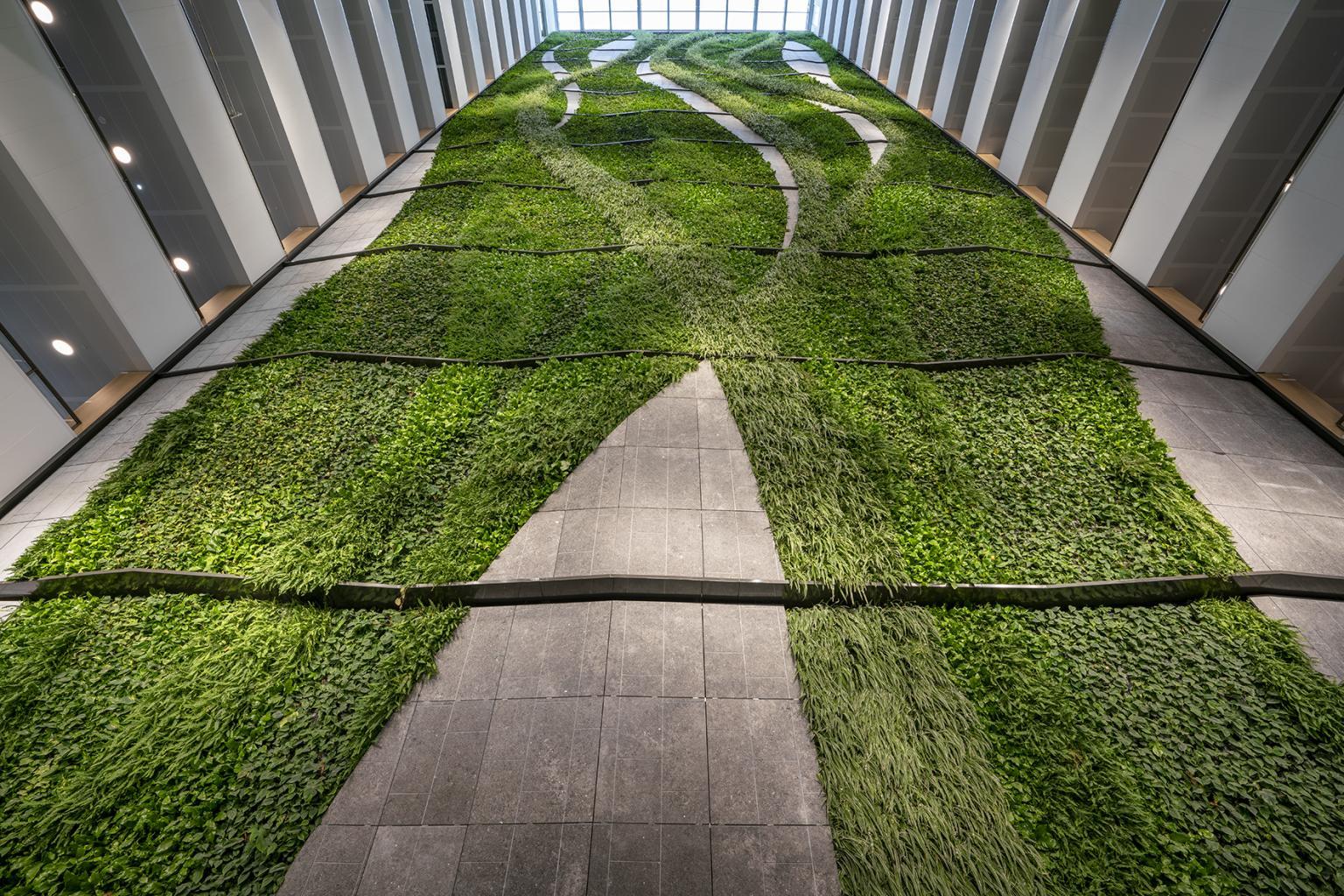 Efix-indoor groene plantenwand European Medicine Agency