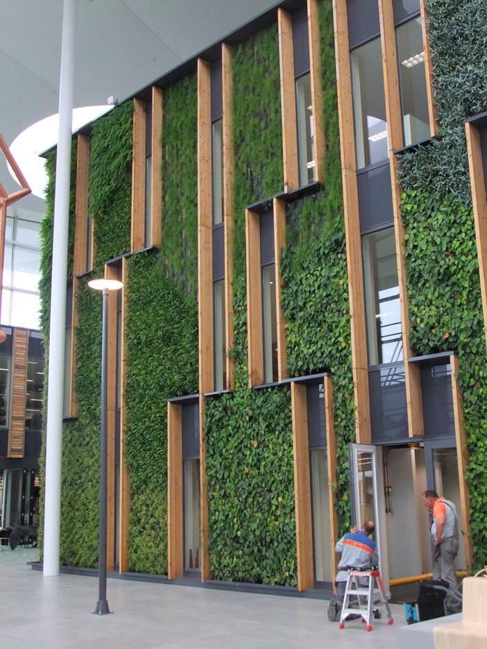 WallFlore Efix I Green Plantwall indoor verticaal groen